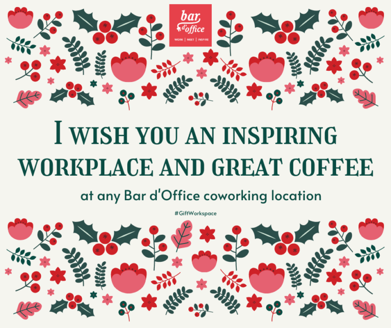 Gift card Bar d'Office coworking